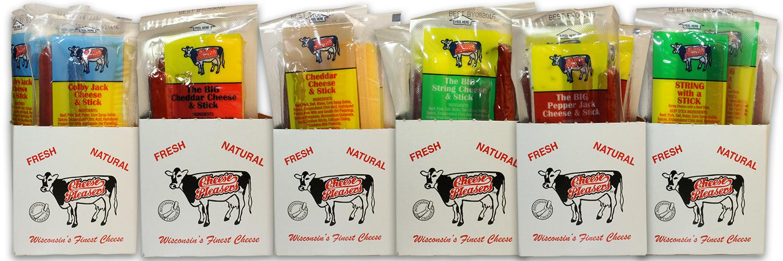 Beef & Cheese Stick Header