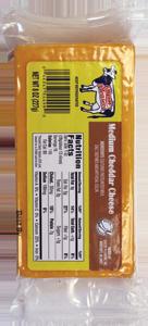Medium Cheddar Cheese 8oz